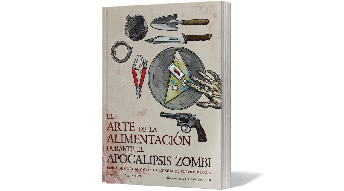 Libro El Arte de la alimentación durante el apocalipsis zombi barato, libros baratos, chollo