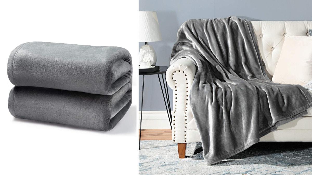 Manta Bedsure barata, mantas de marca baratas, ofertas hogar