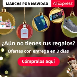 Marcas por Navidad en AliExpress Plaza