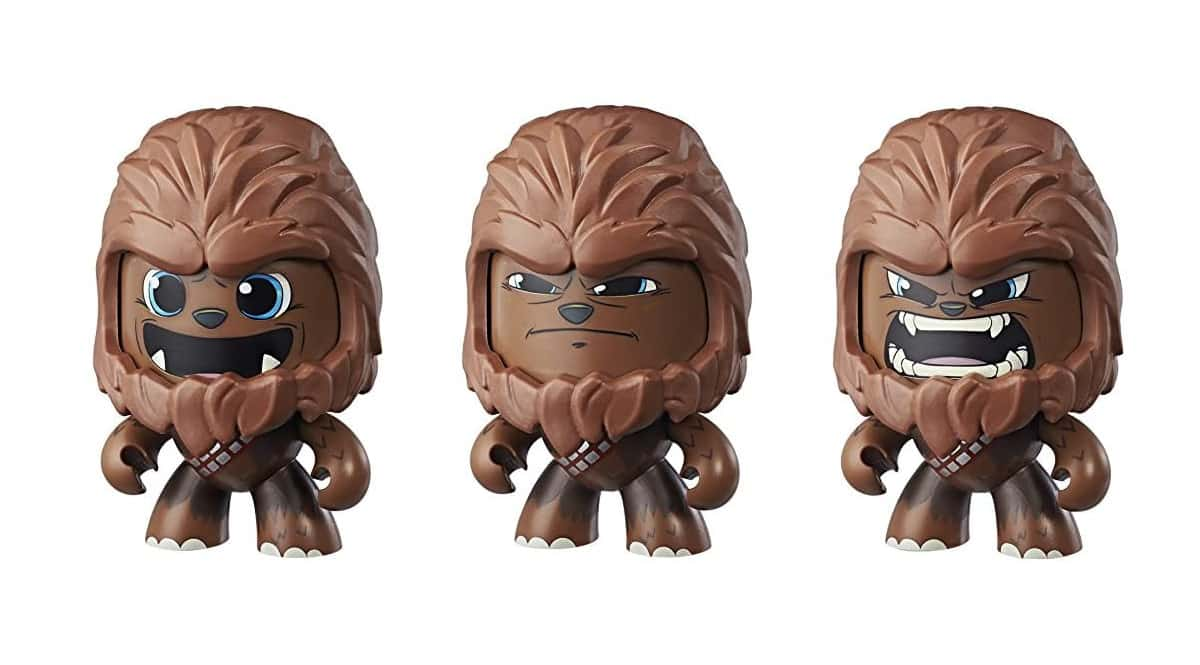 Mighty Muggs Star Wars Chewbacca Hasbro barato, juguetes baratos, chollo