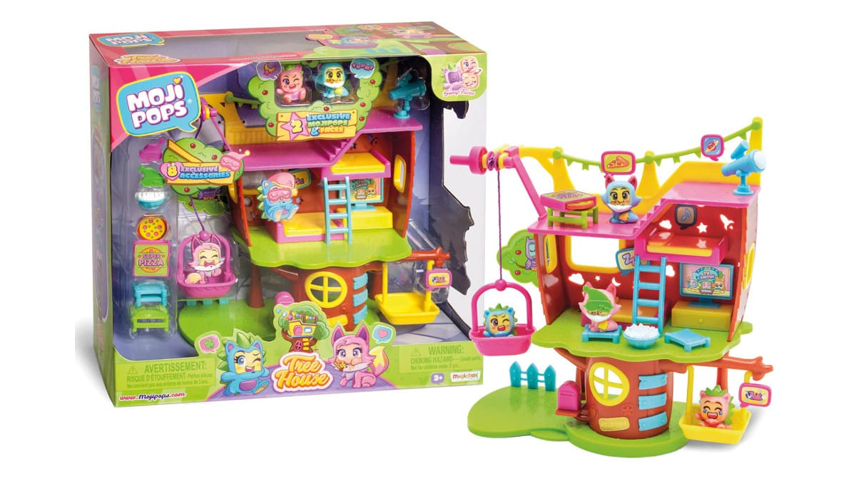 MojiPops Playset Casa del Árbol barato, juguetes baratos, chollo