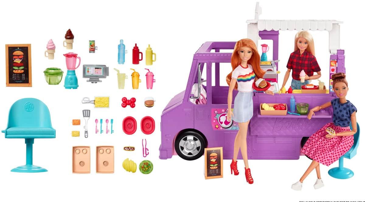 Juguete Barbie Food Truck barata. Ofertas en jugutes, juguetes baratos, chollo