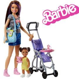 Muñeca Barbie Skipper niñera de paseo barata, juguetes baratos, ofertas para niños