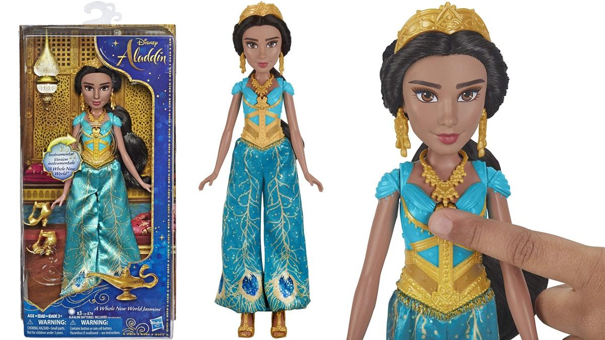 Muñeca Jasmín con música barata, juguetes baratos, ofertas para niños chollo