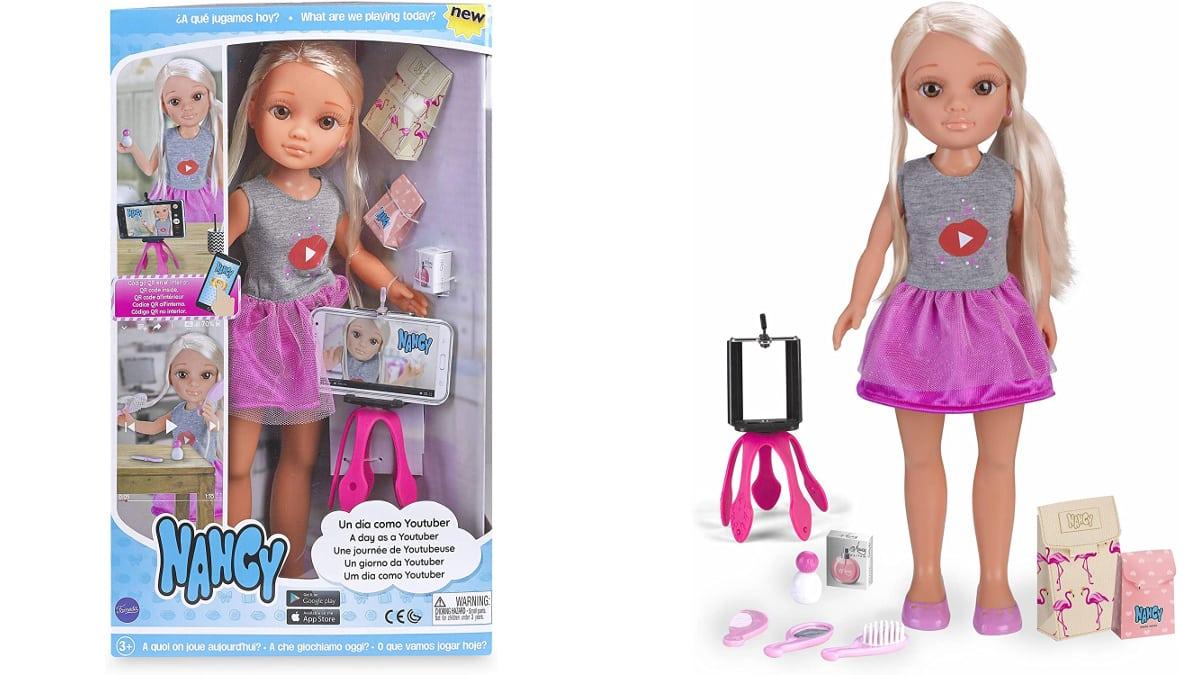 Muñeca Nancy Un Día como Youtuber barata, juguetes baratos, ofertas para niños, chollo