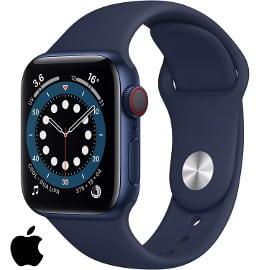 ¡Precio mínimo histórico! Smartwatch Apple Watch Series 6 de 40mm (GPS + Cellular) sólo 429 euros. Te ahorras 100 euros.