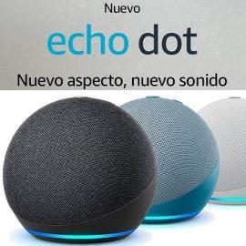 Nuevo altavoz Amazon Echo Dot 4ª generación barato, altavoces baratos
