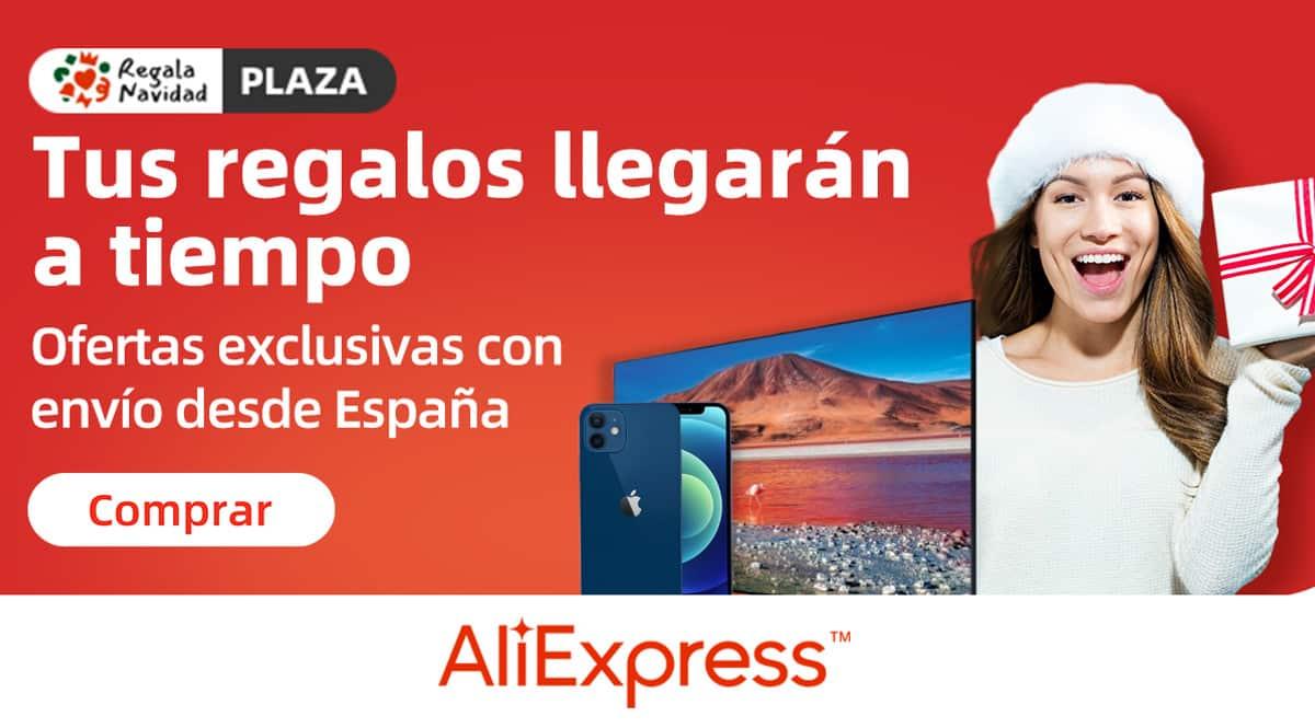 Ofertas de Año Nuevo en AliExpress Plaza, chollo