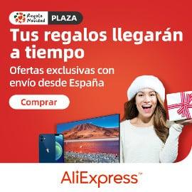 Ofertas de Año Nuevo en AliExpress Plaza