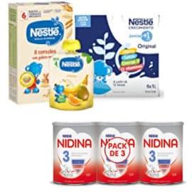Ofertas en alimentación infantil Nestlé, comida para bebés barata, ofertas supermercado