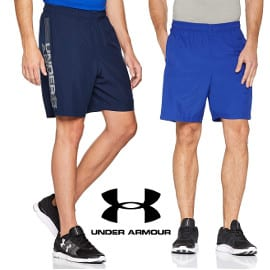 Pantalón corto Under Armour Woven Graphic Wordmark barato, pantalones deportivos baratos