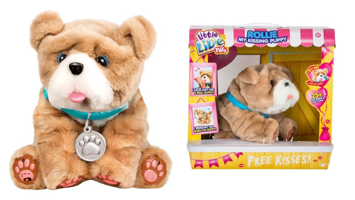 Peluche interactivo Little Live Pets Rollie barato, juguetes baratos, ofertas para niños chollo