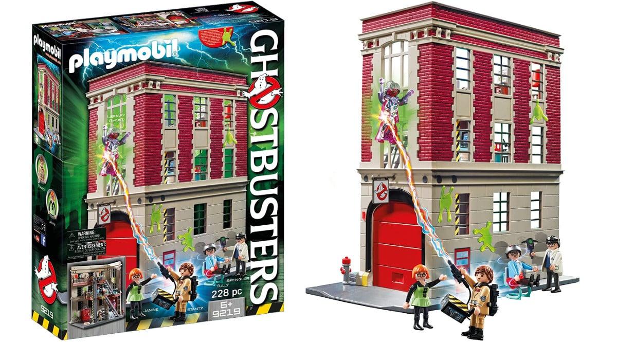 Playmobil Cuartel Parque de Bomberos Ghostbusters barato, playmobil baratos, chollo