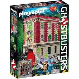 Playmobil Cuartel Parque de Bomberos Ghostbusters barato, playmobil baratos