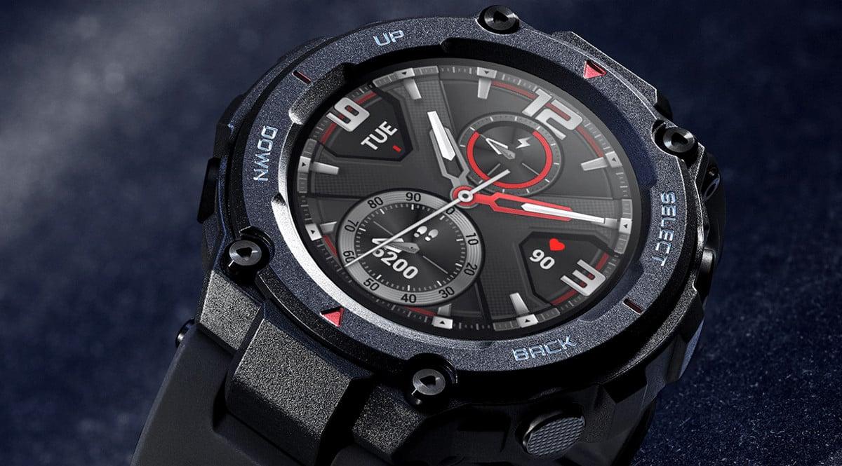 Reloj inteligente Amazfit T-Rex barato. Ofertas en relojes inteligentes, relojes inteligentes baratos, chollo