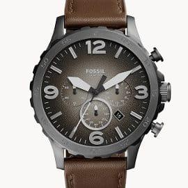 Reloj para hombre Fossil Nate barato, relojes de marca baratos, ofertas en moda