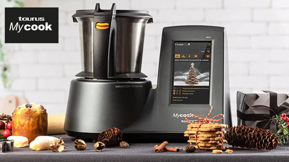 Robots de cocina Taurus Mycook baratos, robots de cocina de marca bartaos, ofertas casa, chollo