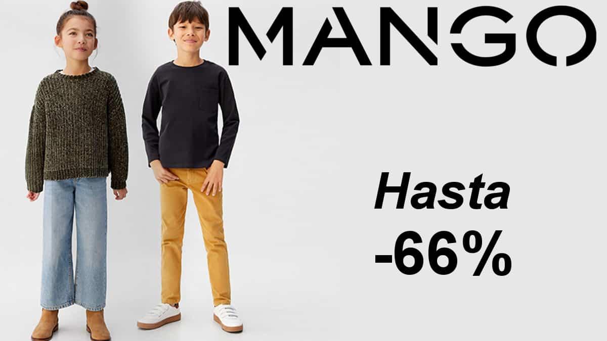 Ropa Mango Kids barata, ropa de marca para niño barata, ofertas en ropa para niño, chollo