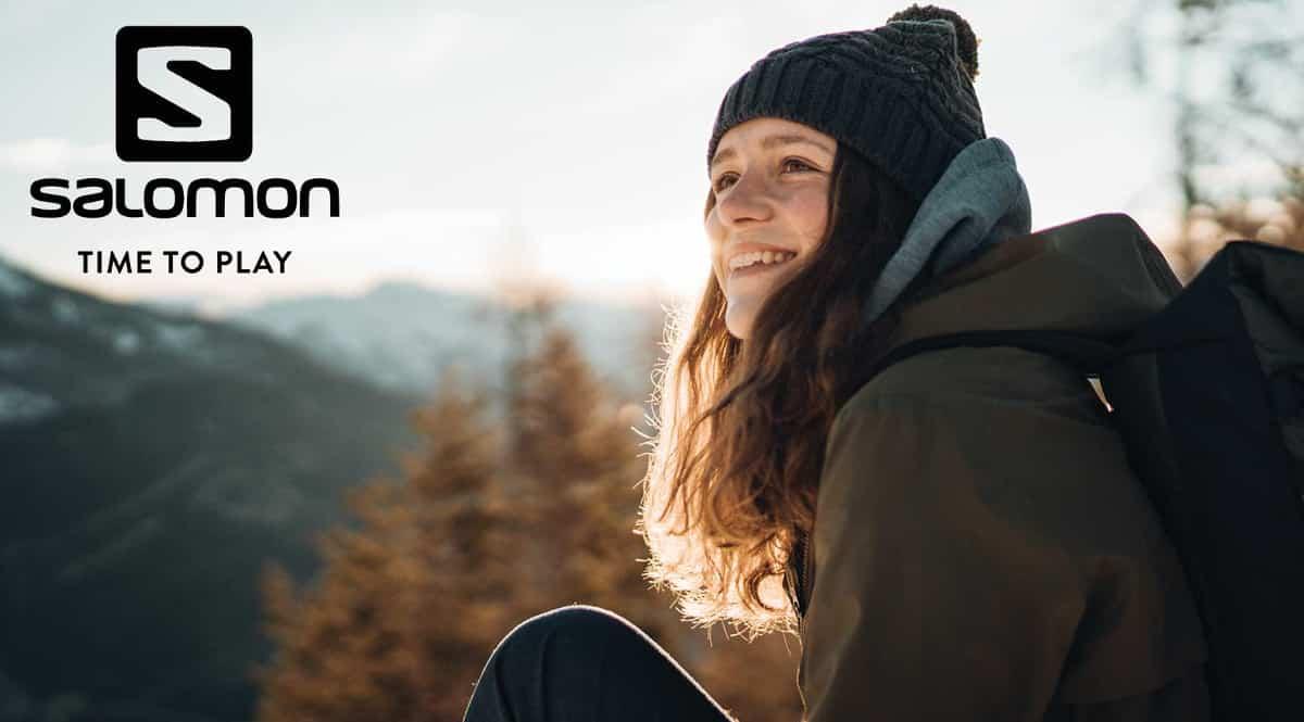 Ropa deportiva Salomon para hombre y mujer barata, ropa de marca barata, chollo