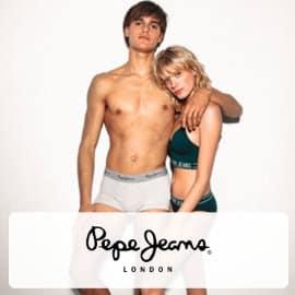 Ropa interior Pepe Jeans barata, ropa inretior de marca barata, ofertas ropa