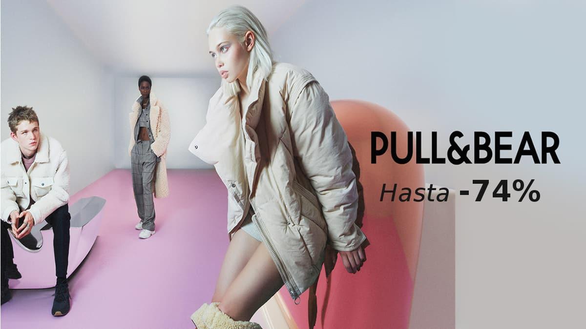 Ropa y calzado Pull& Bear barato, ofertas en ropa para hombre y mujer, chollo