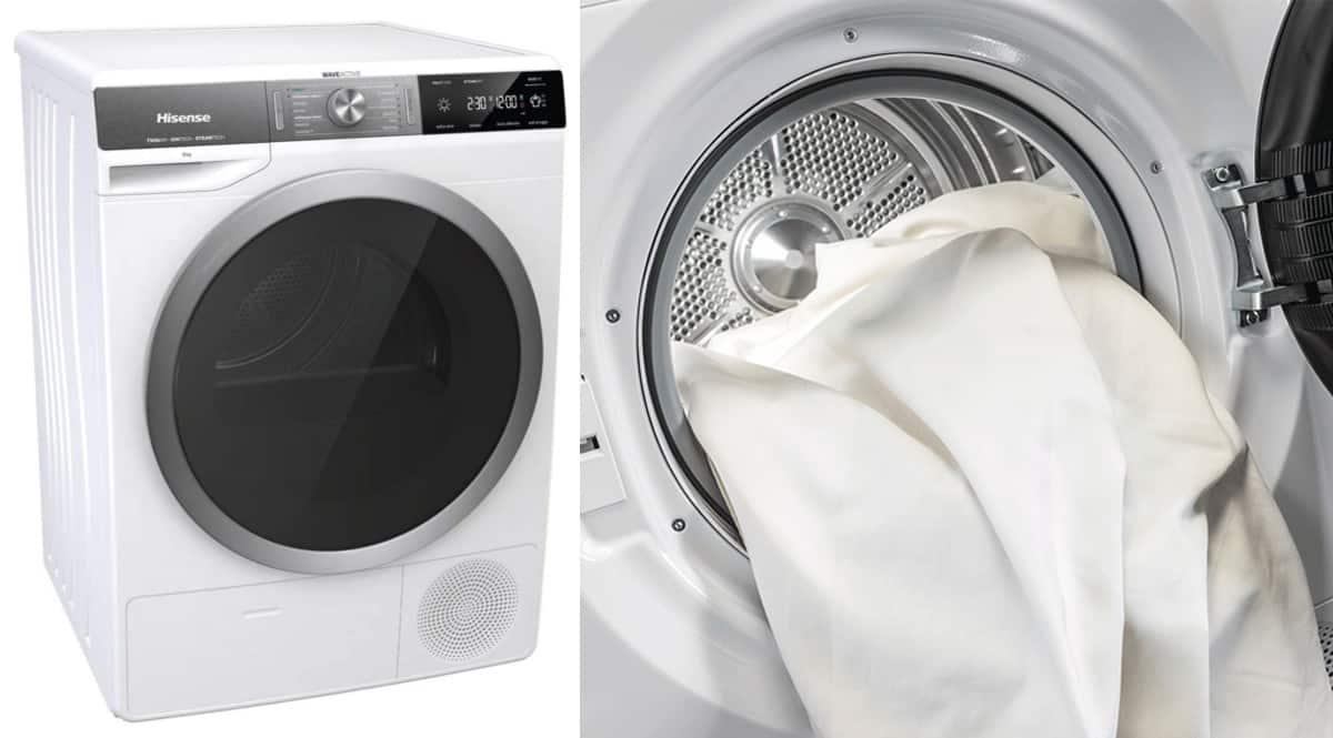 Secadora Hisense DHGS90M barata. Ofertas en secadoras, secadoras baratas, chollo