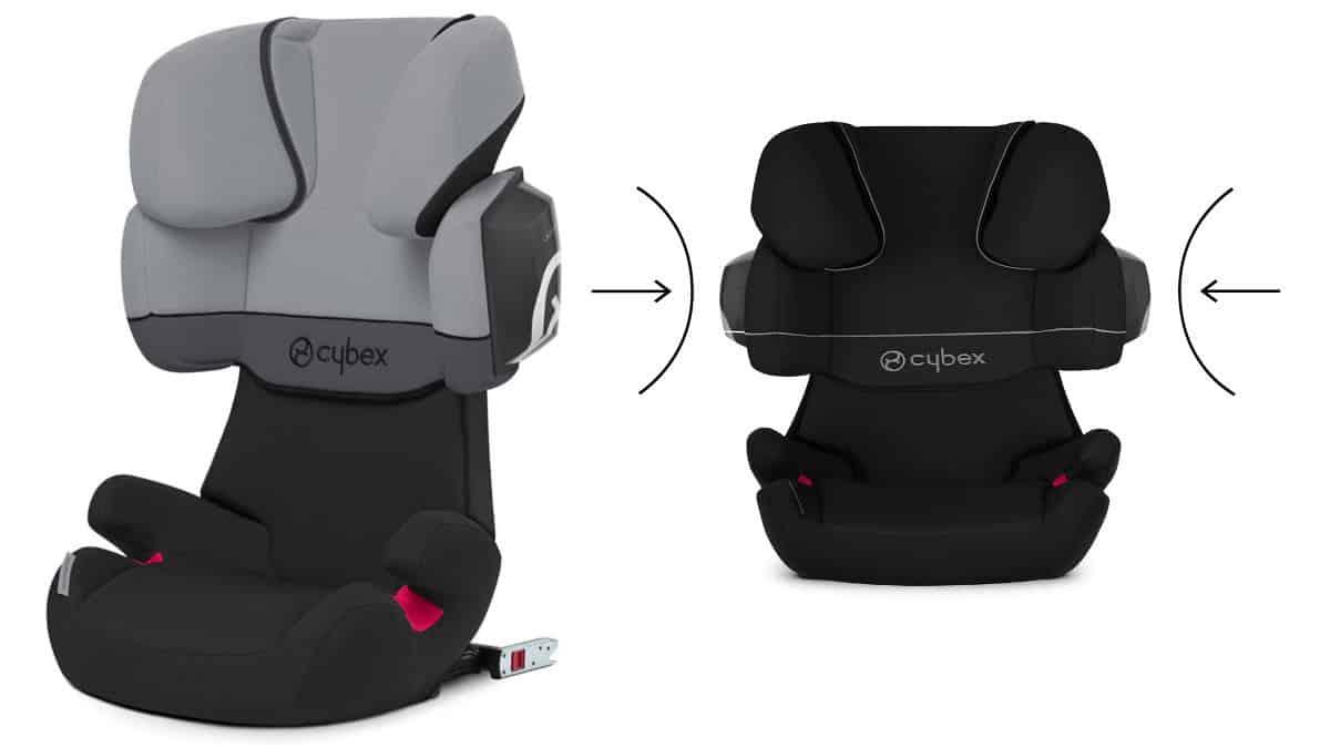 Silla de coche Cybex Solution X2 fix Grupo 2-3 barata. Ofertas para bebé, sillas de babé baratas, chollo