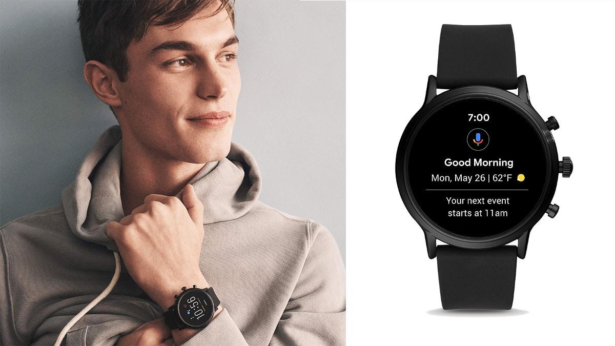Smartwatch Fossil The Carlyle HR 5ª Gen barato, relojes baratos, ofertas en smarwatches chollo