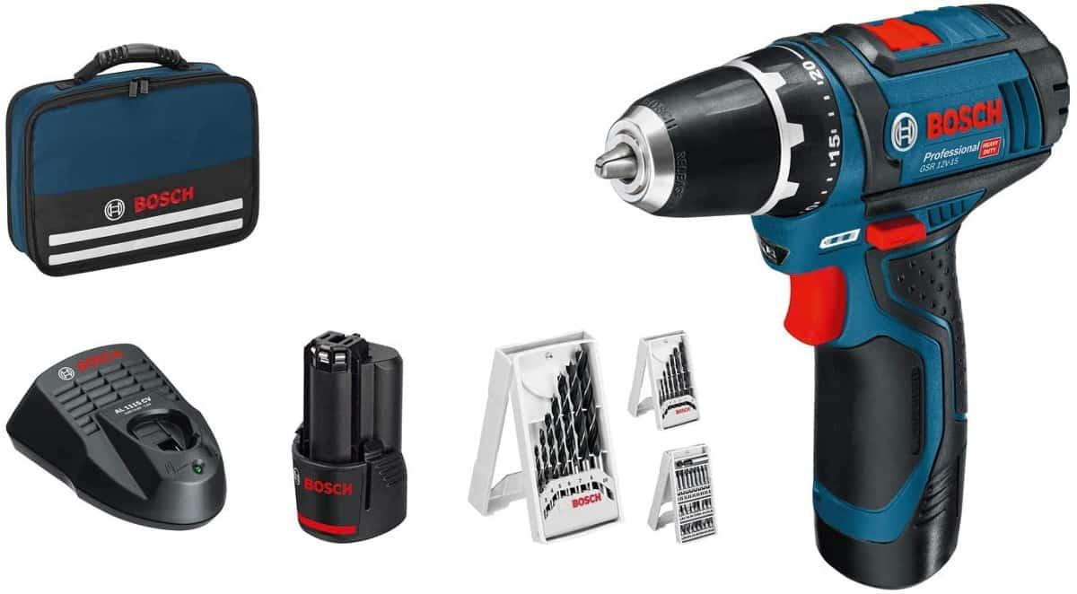Taladro Bosch Professional GSR 12V-15 barato. Ofertas en herramientas, herramientas baratas, chollo