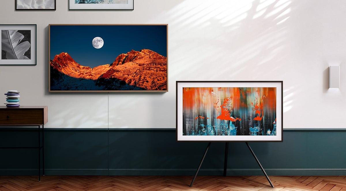 Televisor Samsung QLED The Frame QE55LS03TAU barato. Ofertas en televisores, televisores baratos, chollo