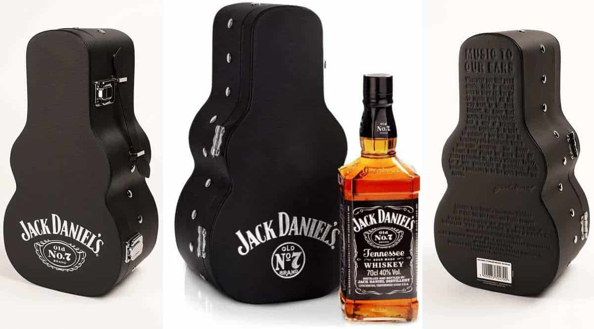 Whisky Jack Daniels No. 7 Guitar Case barato, ofertas en whiskies, whiskies baratos, chollo