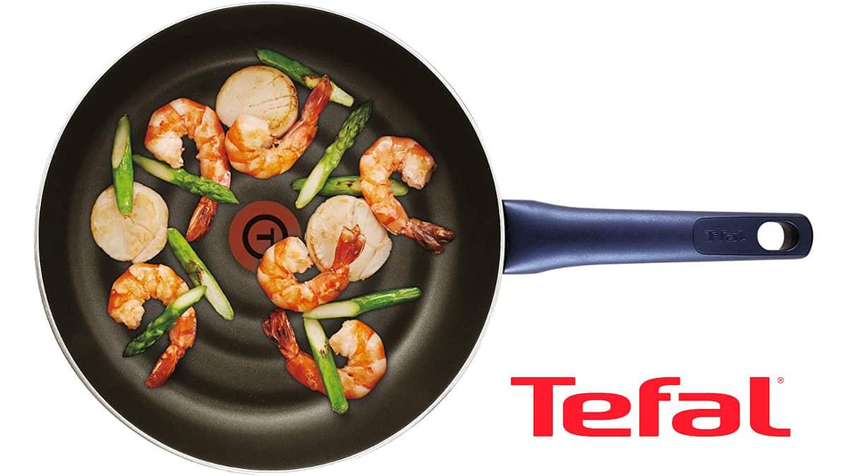 Wok Tefal barato, sartenes de marca baratas, ofertas cocina, chollo