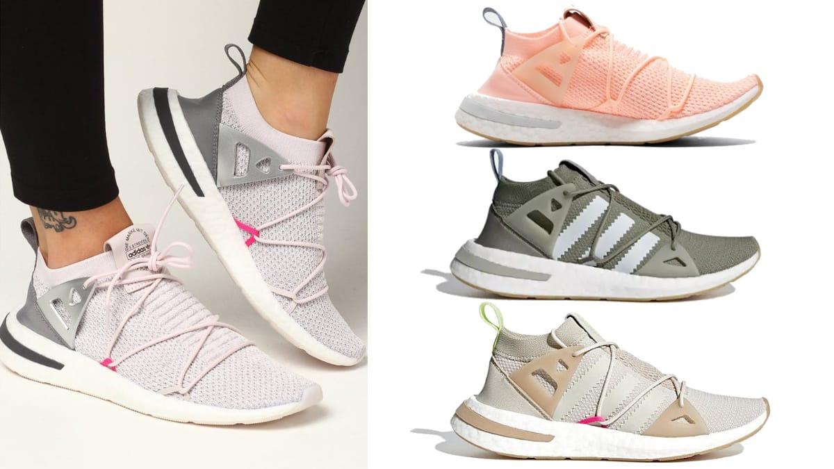 Zapatillas Adidas Arkyn Primeknit Boost baratas, calzado barato, ofertas en zapatillas chollo