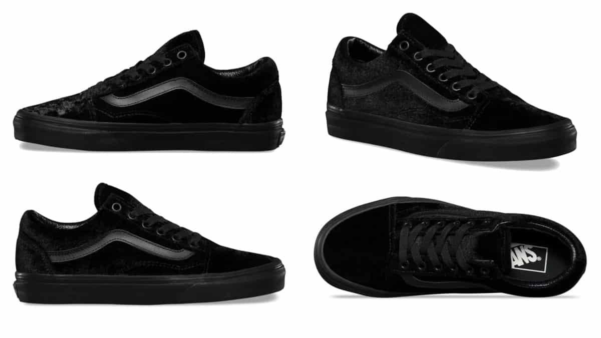 Zapatillas Vans Old Skool terciopelo baratas, calzado barato, ofertas en zapatillas chollo