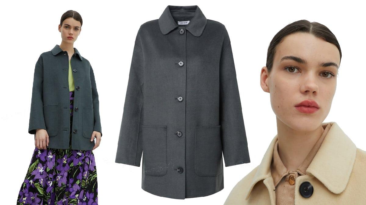 Abrigo Edited Kian barato, ropa de marca barata, ofertas en abrigos chollo