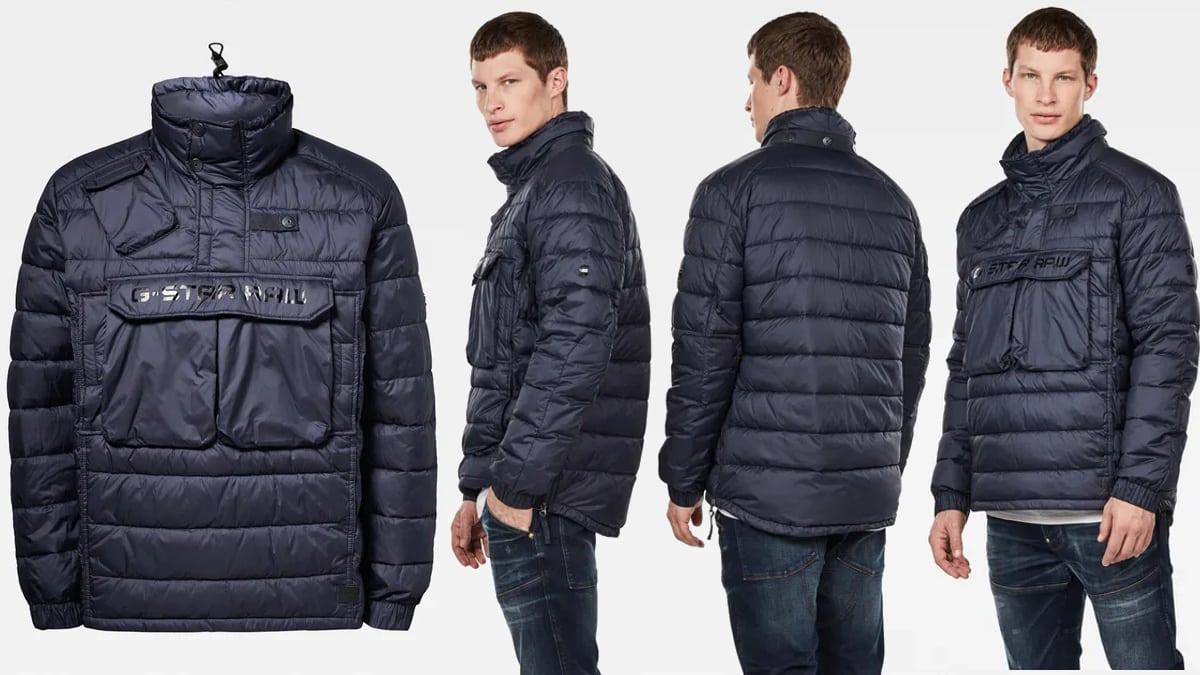 Anorak G-Star Raw Atoll Quilted barato, ropa de marca barata, ofertas en abrigos chollo
