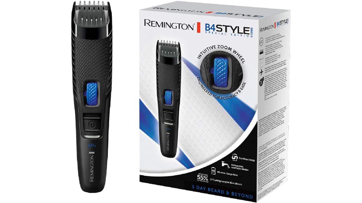 Barbero Remington B4 Style Series barato, recortadores de barba de marca baratos, ofertas cuidado personal, chollo