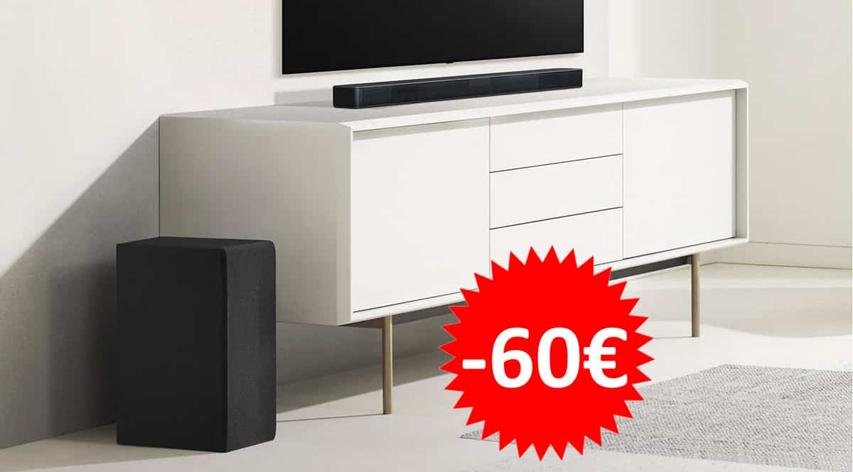 Barra de sonido LG SN4 barata. Ofertas en barras de sonido, barras de sonido baratas, chollo