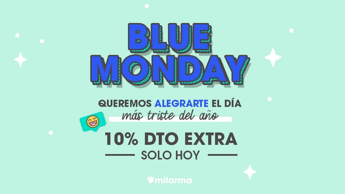 Blue Monday en Mifarma, descuentos parafarmacia, ofertas en productos de parafarmacia, chollo