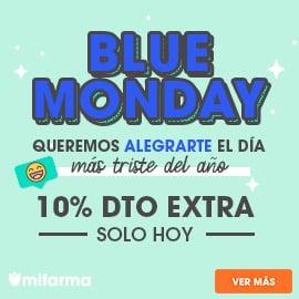 Blue Monday en Mifarma, descuentos parafarmacia, ofertas en productos de parafarmacia