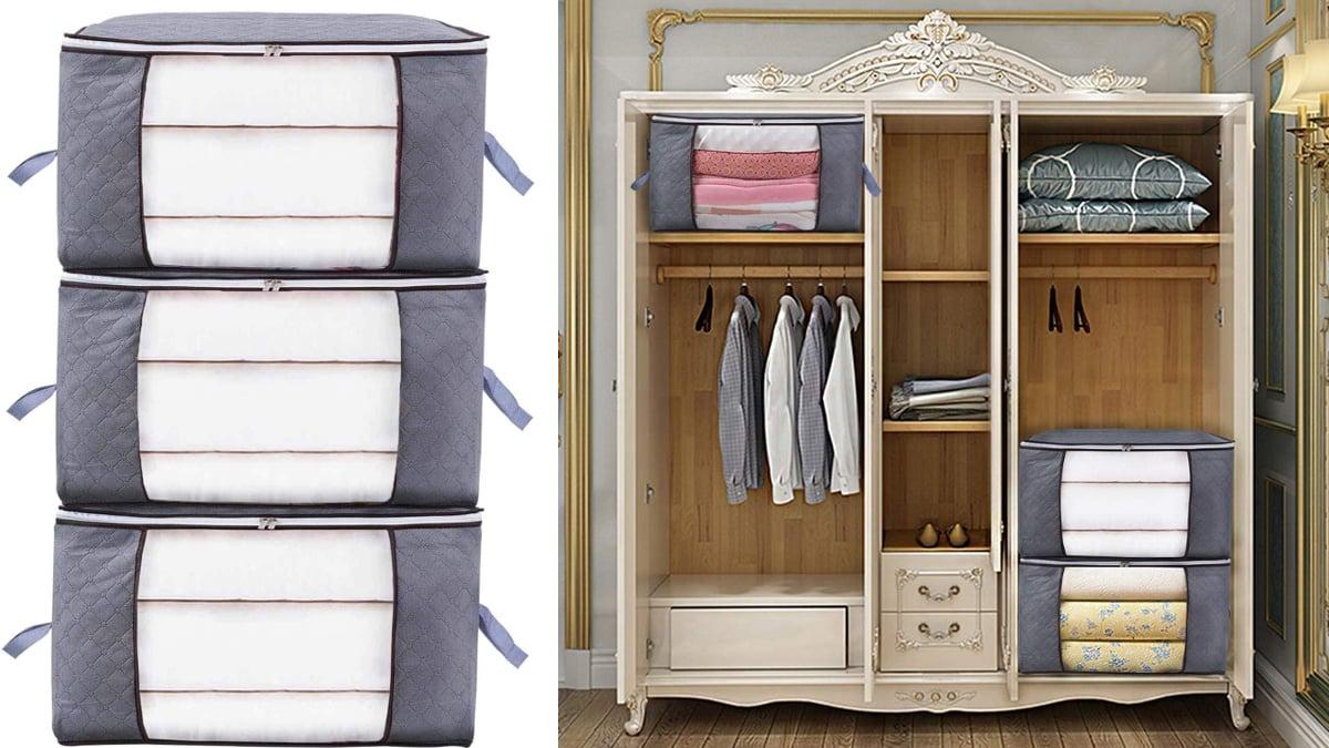 Bolsas de almacenamiento Niviy baratas, bolsas para la ropa baratas, ofertas ordenación hogar,, chollo