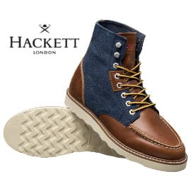 Botas Hackett London Work Boot baratas, calzado de marca barato, ofertas en botas