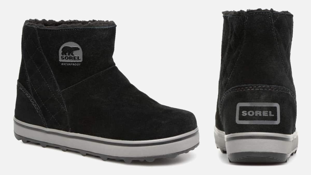 Botas Sorel Glacy Short baratas, calzado de marca barato, ofertas en botas chollo