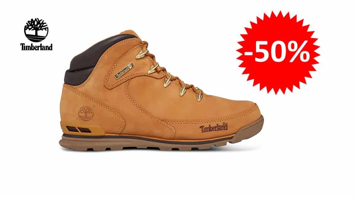 ¡¡Chollo!! Botas para hombre Timberland Euro Rock Hiker sólo 80 euros. 50% de descuento.