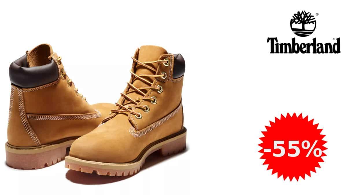 Botas para niño Timberland 6 baratas, botas de marca baratas, ofertas en calzado para niño, chollo