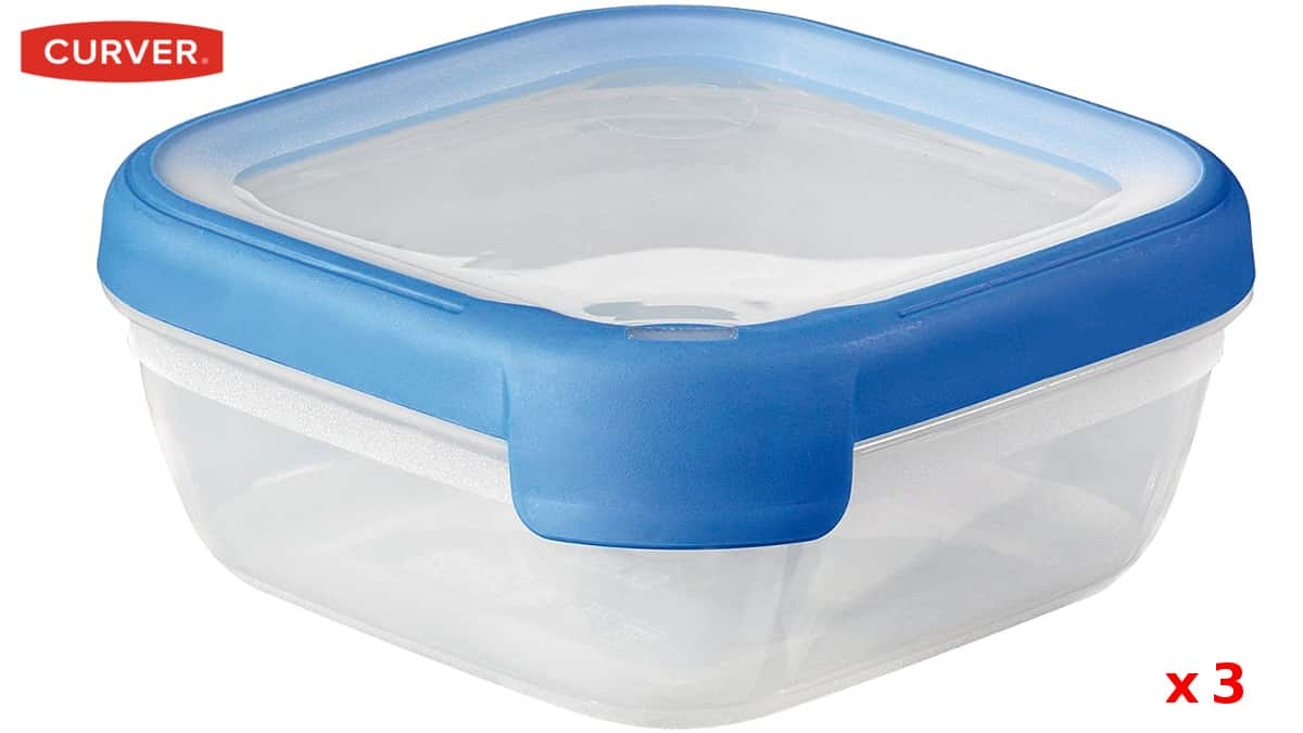 Botes herméticos Curver baratos, recipientes alimentación baratos,ofertas cocina, chollo