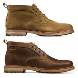 Botines Clarks Foxwell Mid baratos, calzado de marca barato, ofertas en botines