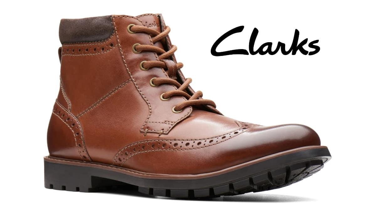 Botines Clarks Topton Hi baratos, calzado de marca barato, ofertas en botines chollo