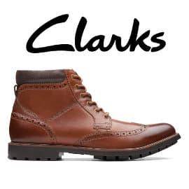 Botines Clarks Topton Hi baratos, calzado de marca barato, ofertas en botines