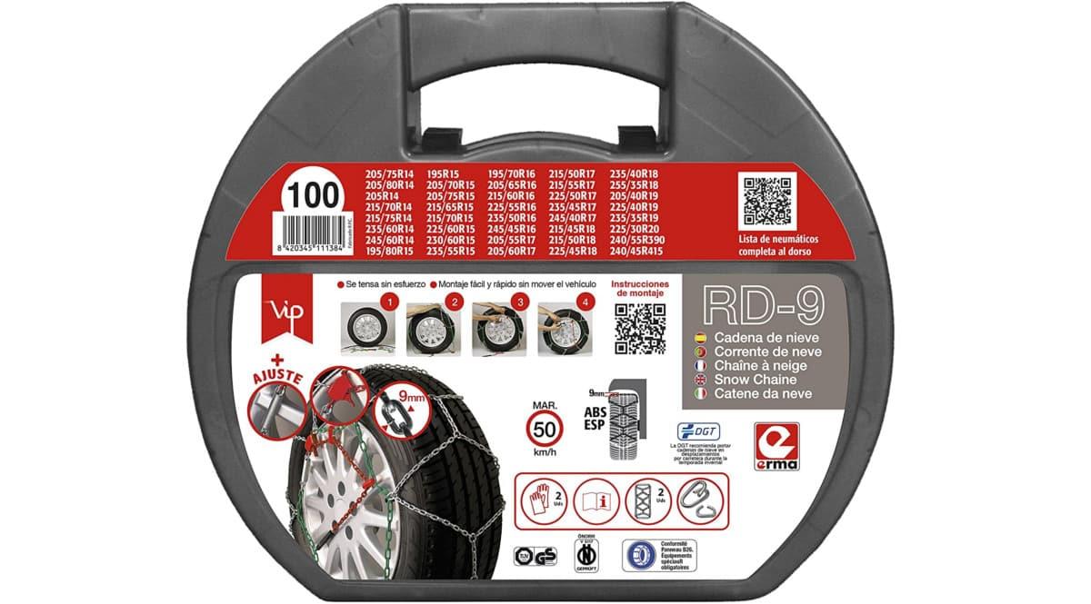 Cadenas para el coche RD-9 baratas. Ofertas en cadenas para el coche, cadenas para el coche baratas, chollo